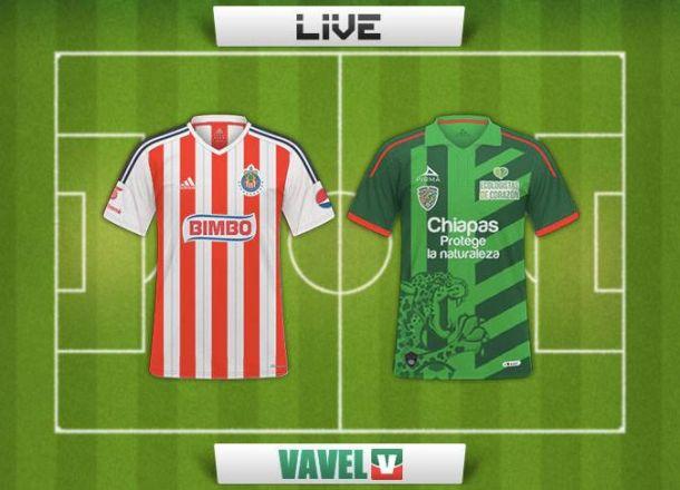 Resultado Chivas - Jaguares Chiapas en Copa MX 2015 (2-1)