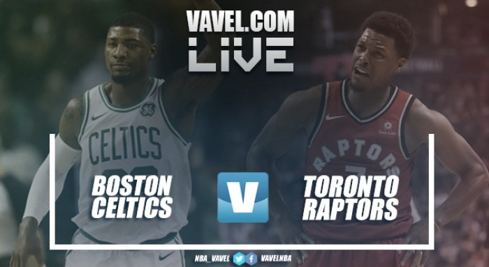 Resumen Boston Celtics vs Toronto Raptors en vivo y en directo online en NBA (95-94)