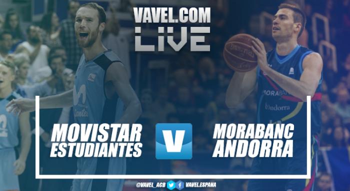 Resumen del Movistar Estudiantes vs MoraBanc Andorra en Liga Endesa 2018 (81-72)