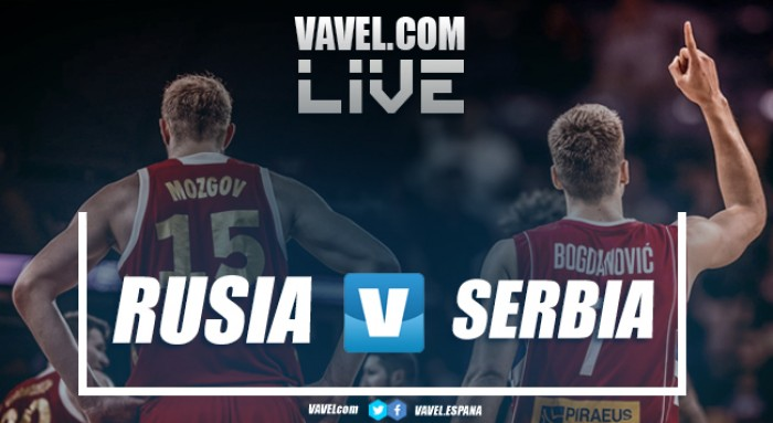Resumen Rusia 79 vs 87 Serbia en Eurobasket 2017