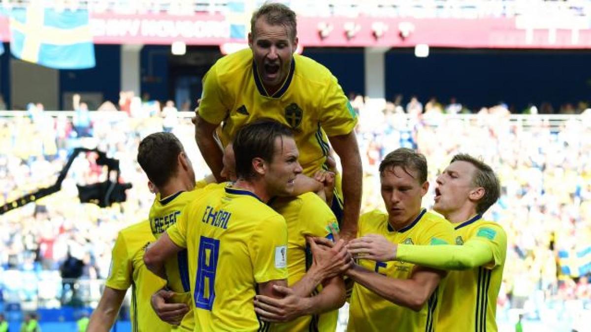 La Suède vainqueur face à la Corée du Sud
