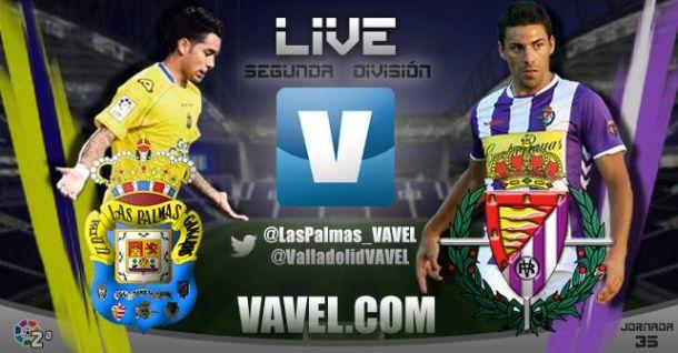 Resultado UD Las Palmas - Real Valladolid en Segunda División 2015 (1-1)