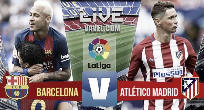 Barcelona y Atlético dejan todo igual en la parte alta de la tabla