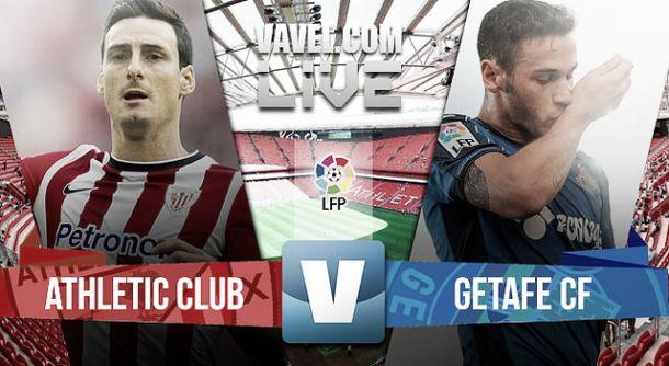 Resultado Athletic de Bilbao - Getafe en la Liga BBVA 2015 (4-0)