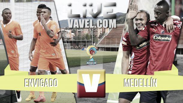 Resultado Envigado - Medellín en la Liga Águila 2015-I (0-2)