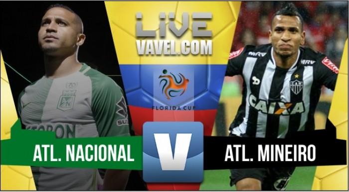 Incia con pie derecho la era de Almirón en Atlético Nacional: 2-0 ante Mineiro por la Florida Cup