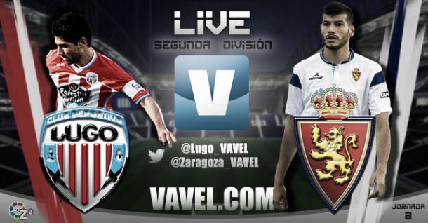 Lugo - Real Zaragoza en directo online