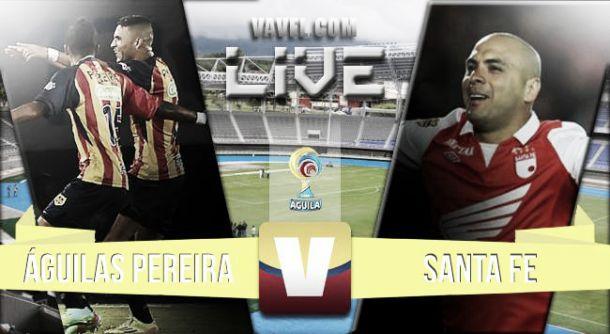Resultado Águilas Pereira - Santa Fe en la Liga Águila 2015 (1-1)