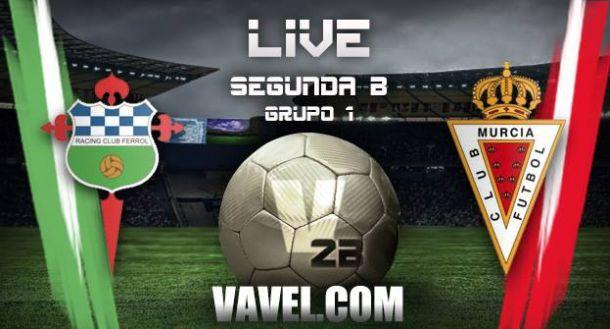 Racing de Ferrol - Real Murcia en directo online