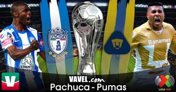 Resultado Pachuca - Pumas en Liga MX 2014 (1-1)
