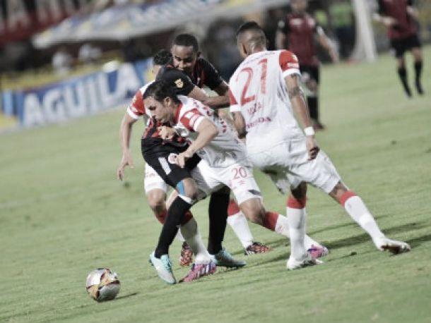 Resultado Patriotas - Cúcuta 2015 (0-0)