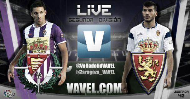 Resultado Real Valladolidvs Real Zaragoza en Segunda División 2015 (1-3)