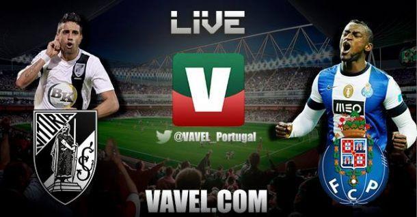 Resultado Vitória Guimarães x Porto na Primeira Liga 2014 (2-2)