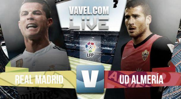 Resultado Real Madrid - Almería (3-0)
