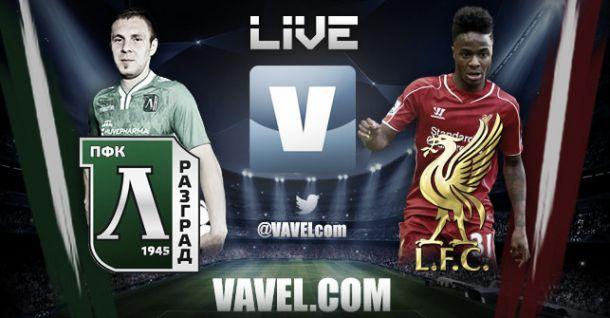 Ludogorets vs Liverpool en vivo y en directo online