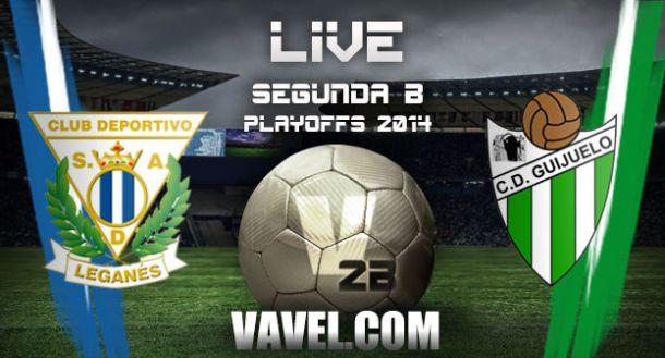 Leganés - Guijuelo en la Segunda B 2014 (1-0)