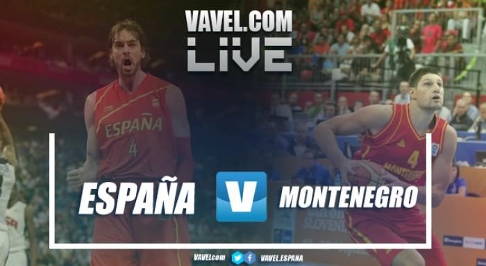 Resumen España 99-60 Montenegro en Eurobasket 2017