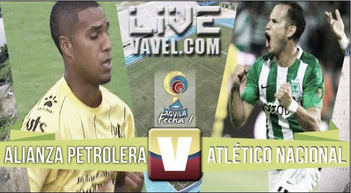 Resultado Alianza Petrolera vs Nacional en la Liga Colombia 2016 (0-0)