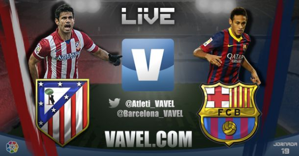 Resultado Atlético de Madrid vs Barcelona en Liga BBVA 2014 (0-0)