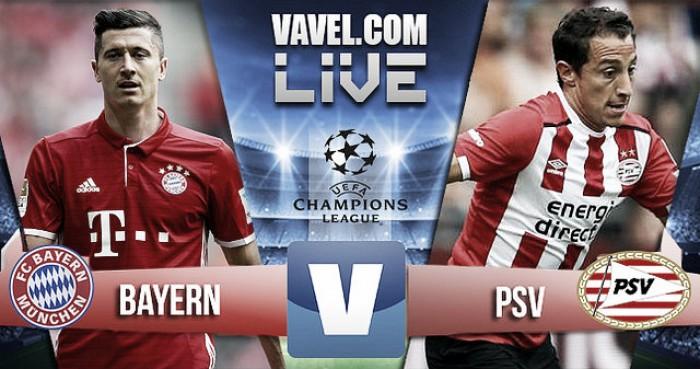Resumen Bayern München 4-1 PSV en Champions League 2016
