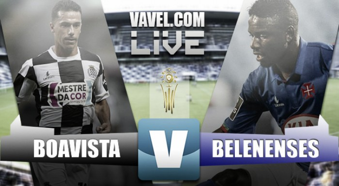 Belenenses tumba a Boavista y continúa en la Taça da Liga