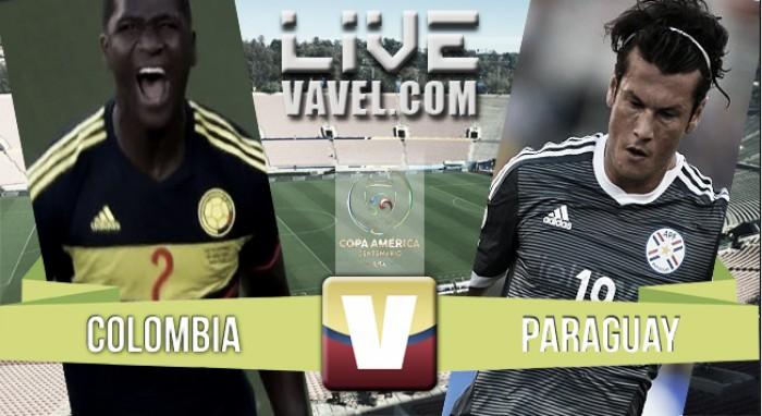 Resultado Colombia - Paraguay en Copa América Centenario (2-1)