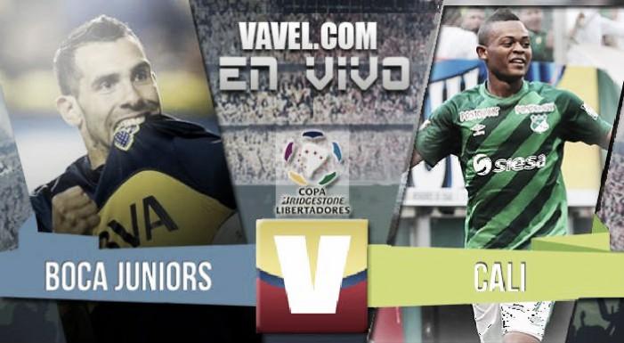 Resultado: Boca Juniors - Deportivo Cali por la Copa Libertadores (6-2)
