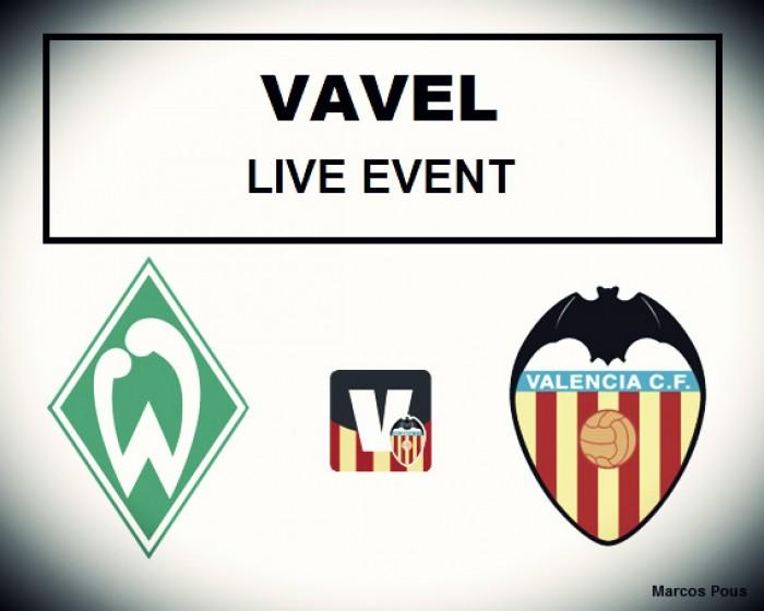Resumen Werder Bremen vs Valencia (1-2)