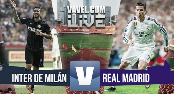Live Inter - Real Madrid, amichevole precampionato: Jesè, Varane e James fissano il punteggio sul 3-0 per i blancos