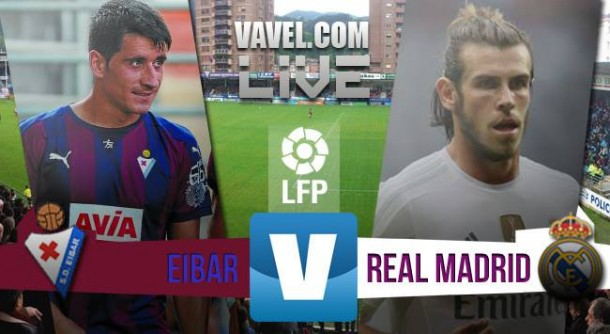 Eibar vs Real Madrid en vivo hoy (0-0)