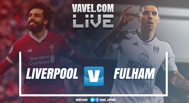 Fulham vs Liverpool EN VIVO y en directo en La Premier League 2020