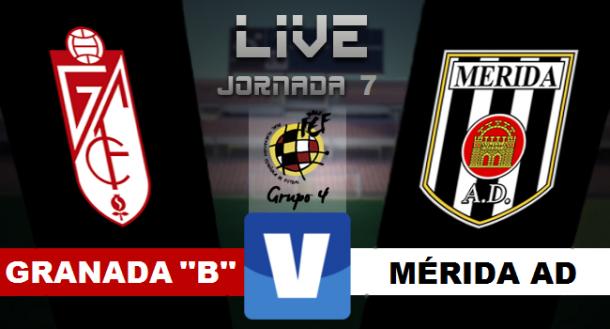 Resultado Granada B - Mérida en Segunda División B 2015 (1-1 ...
