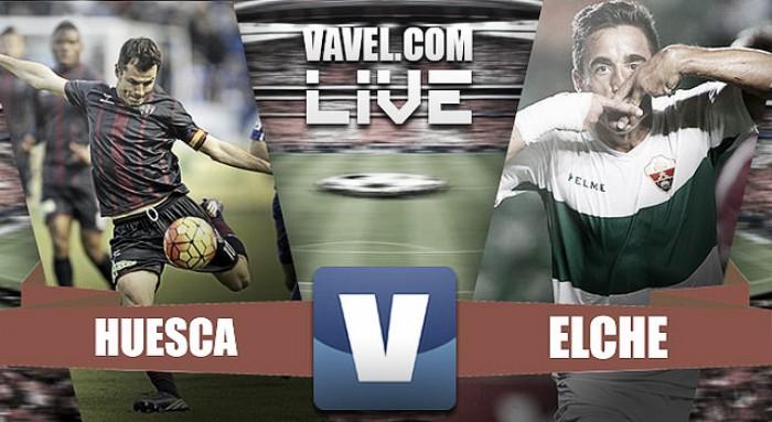 El Elche CF se impone al SD Huesca con una gran segunda parte