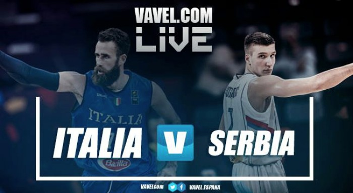 Resumen Italia 67-83 Serbia en Eurobasket 2017