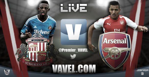 Resultado partido Sunderland vs Arsenal en vivo y en directo online