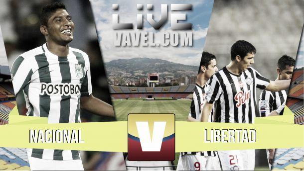 Resultado Atlético Nacional - Libertad en la Copa Libertadores 2015 (4-0)