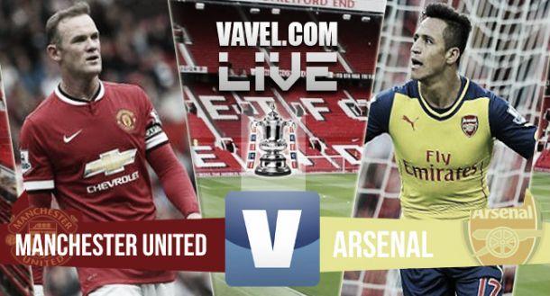 Resultado Manchester United - Arsenal (1-2)