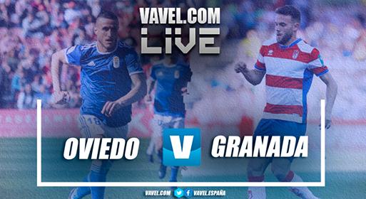 Resumen Oviedo 1-1 Granada en Segunda División
