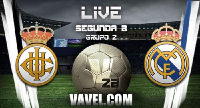Resultado Real Madrid Castilla - Real Unión de Irún en Segunda B ...