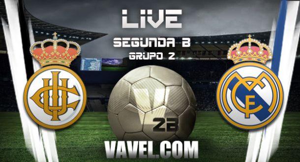 Resultado Real Unión - Real Madrid Castilla en Segunda B 2015 (1-0)