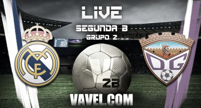 Resultado Real Madrid Castilla - Guadalajara en Segunda B 2016 (6-3)