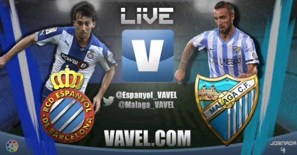 Resultado Espanyol Málaga En Liga Bbva 2014 2 2 Vavel España