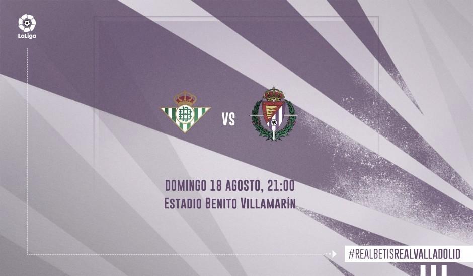 Resumen del Real Betis vs Real Valladolid (1-2)
