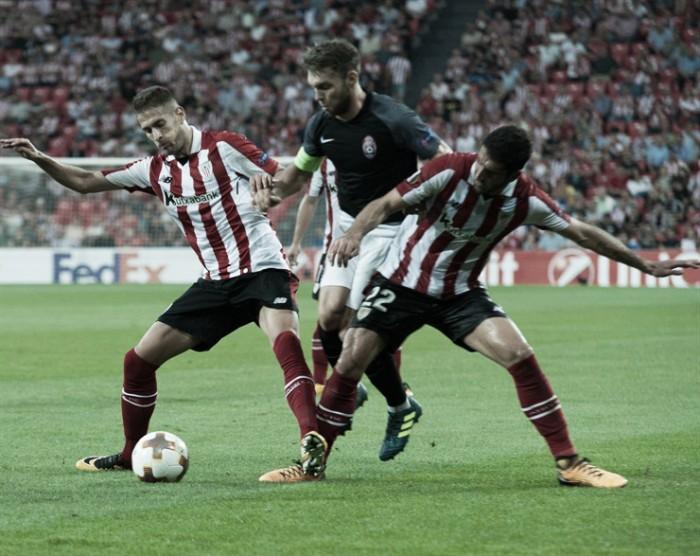 Resultado Zorya Luhansk vs Athletic Club en UEFA Europa League 2017 (0-2)