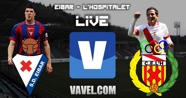 Eibar - Hospitalet, así lo vivimos