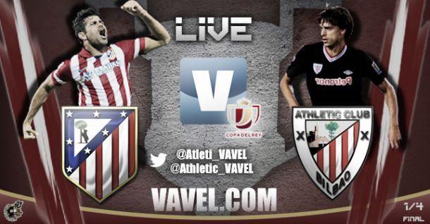 Diretta Atlético Madrid - Athletic Bilbao in Copa del Rey