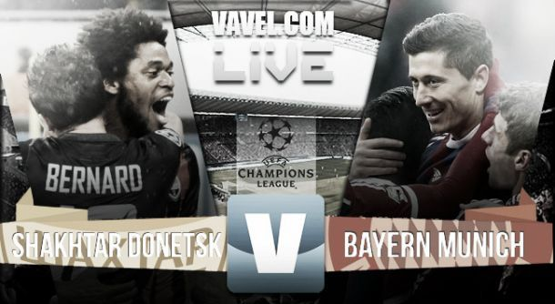 Diretta Shakhtar Donetsk - Bayern Monaco, risultati Live della Champions League