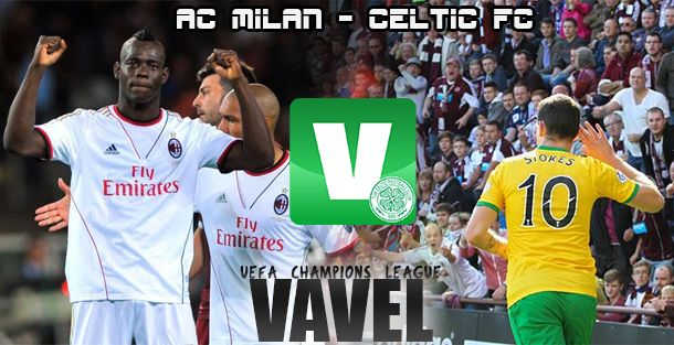 Resultado Milan - Celtic en Champions League 2013 (2-0)