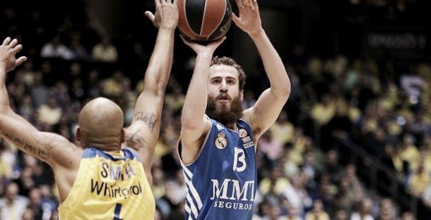 Resultado Maccabi - Real Madrid Baloncesto en la Final Four 2014 (86-98)