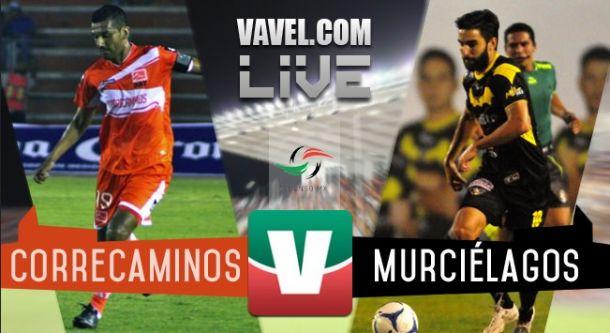 Resultado Correcaminos UAT - Murciélagos FC en Ascenso MX 2015 (0-1)